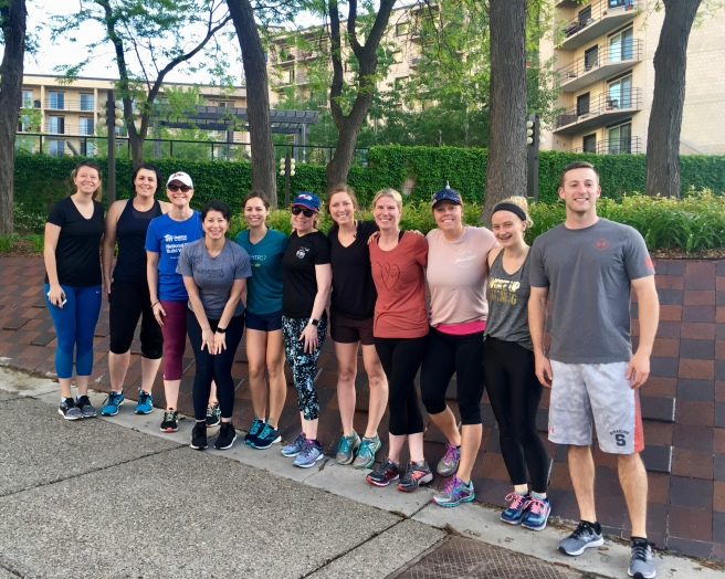 I gave the crew the option of taking the group photo before or after the run and they loudly opted for before. Bike people tend to go for after, in my experience. Learn something new every day!
